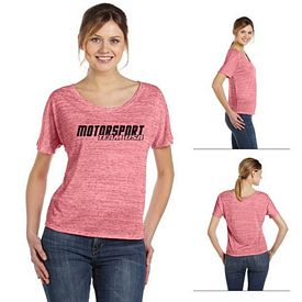 Customized Bella 8816 Ladies' Flowy Simple T-Shirt