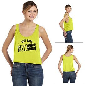 Customized Bella 8880 Ladies' Flowy Boxy Tank