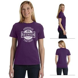 Customized Bella B6400 Ladies' Missy Jersey Short-Sleeve T-Shirt