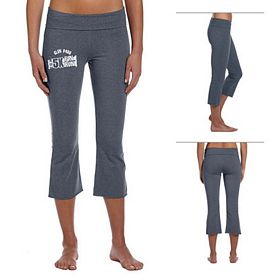 Customized Bella B815 Ladies' Cotton/Spandex Capri Pant