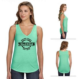 Customized Bella B8805 Ladies' Flowy V-Neck Tank