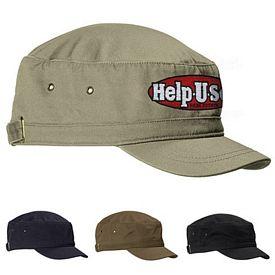 Customized Big Accessories BA501 Short Bill Cadet Cap
