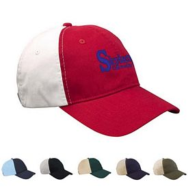 Customized Big Accessories BA507 Retro Two-Tone Cap