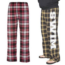 Customized Boxercraft F24 Classic Spiritwear Elastic Flannel Pants