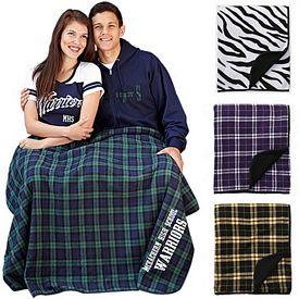 Customized Boxercraft FB250 60x50 Flannel Premium Blanket