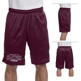 Customized Champion 8731 3.7 oz Polyester Mesh Shorts
