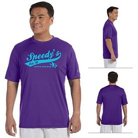 Customized Champion CW22 Mens 4 oz Double Dry Performance T-Shirt