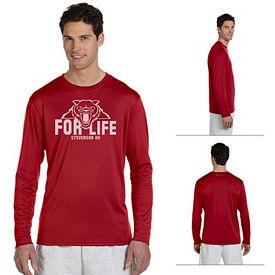 Customized Champion CW26 Adult 4 oz Double Dry Performance Long-Sleeve Shirt