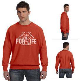Customized Champion S1049 Adult 12 oz Reverse Weave Crewneck Sweatshirt