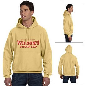 Customized Champion S1051 Adult 12 oz Reverse Weave Pullover Hood Sweatshirt