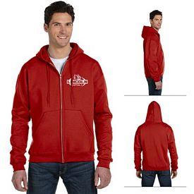 Customized Champion S800 Adult Eco 9 oz Poly-Cotton Full-Zip Hood Sweatshirt