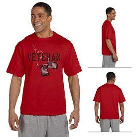 Customized Champion T2102 7 oz Cotton Heritage Jersey T-Shirt