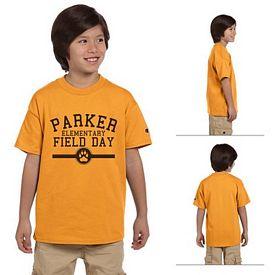 Customized Champion T435 Youth 6.1 oz Tagless T-Shirt
