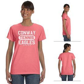 Customized Comfort Colors C3333 Ladies' 5.4 oz Ringspun Garment-Dyed T-Shirt