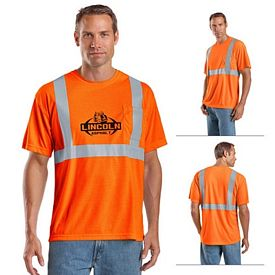 Customized CornerStone CS401 ANSI 107 Class 2 Safety T-Shirt