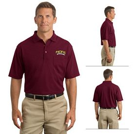 Customized CornerStone CS402P Industrial Pocket Pique Polo