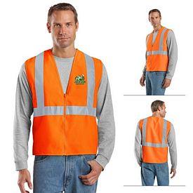 Customized CornerStone CSV400 ANSI 107 Class 2 Safety Vest