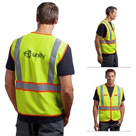 Customized CornerStone CSV407 ANSI 107 Class 2 Dual-Color Safety Vest