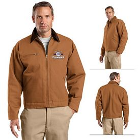 Customized CornerStone J763 Duck Cloth Work Jacket