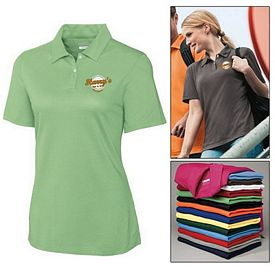 Customized Cutter & Buck LCK02357 Ladies CB DryTec Elliott Bay Polo