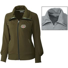 Customized Cutter & Buck LCK02532 Ladies Vancouver Full Zip Jacket