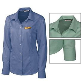 Customized Cutter & Buck LCW04124 Ladies Epic Easy Care Nailshead Shirt