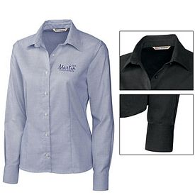 Customized Cutter & Buck LCW08366 Ladies Classic Nailshead Shirt