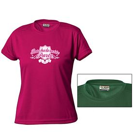 Customized Cutter & Buck LQK00023 Ladies' Ice Tee