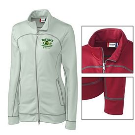 Customized Cutter & Buck LQK00030 Ladies' Helsa Full Zip