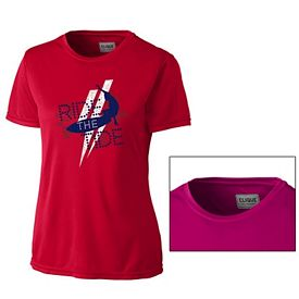 Customized Cutter & Buck LQK00037 Ladies' Parma T-Shirt