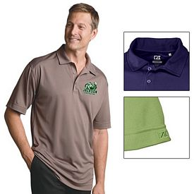 Customized Cutter & Buck MCK00291 Mens CB DryTec Genre Polo