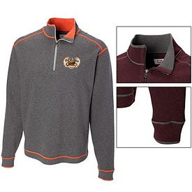 Customized Cutter & Buck MCK00492 Mens Overtime Half Zip Pullover