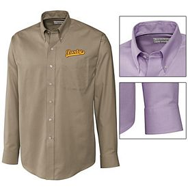 Customized Cutter & Buck MCW01711 Mens Epic Easy Care Nailshead Shirt