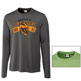 Customized Cutter & Buck MQK00024 Men's Long Sleeve Ice Tee