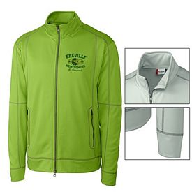 Customized Cutter & Buck MQK00036 Men's Helsa Full Zip