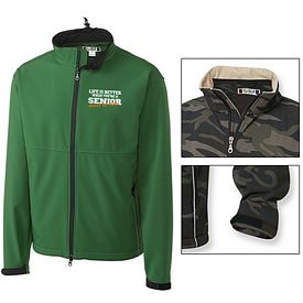 Customized Cutter & Buck MQO00008 Men's Softshell Jacket