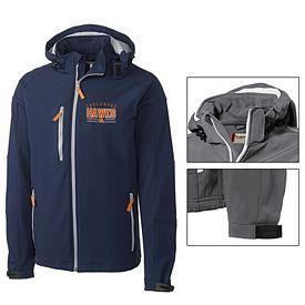 Customized Cutter & Buck MQO00022 Men's Tulsa Hooded Jacket