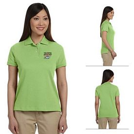 Customized Devon & Jones D140SW Ladies Solid Perfect Pima Interlock Polo