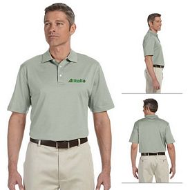 Customized Devon & Jones D440 Mens Executive Club Polo