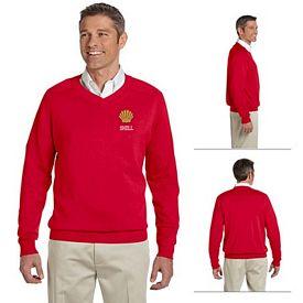 Customized Devon & Jones D475 Mens V-Neck Sweater