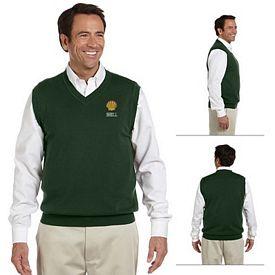 Customized Devon & Jones D477 V-Neck Vest