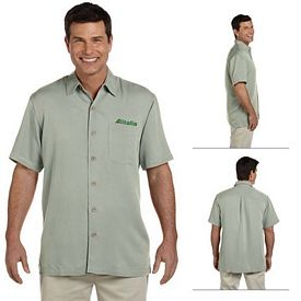 Customized Devon & Jones D670 Mens Isla Camp Shirt