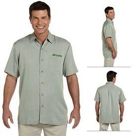 Customized Devon & Jones D670 Mens Isla Camp Shirt