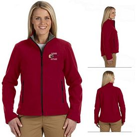 Customized Devon & Jones D765W Ladies Advantage Soft Shell Jacket