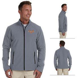 Customized Devon & Jones D945 Mens Doubleweave Jacket