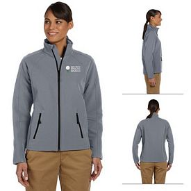 Customized Devon & Jones D945W Ladies Doubleweave Jacket