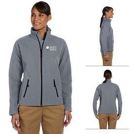 Customized Devon & Jones D945W Ladies Doubleweave Jacket
