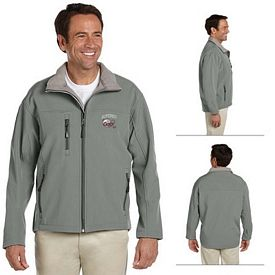 Customized Devon & Jones D995 Mens Soft Shell Jacket