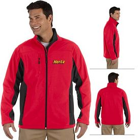 Customized Devon & Jones D997 Mens Soft Shell Colorblock Jacket