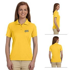 Customized Devon & Jones DG385W Ladies Dri-Fast Advantage Solid Mesh Polo